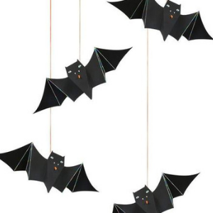 Suspensions chauve-souris - décorations pour Halloween