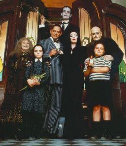 Déguisement enfant famille Addams pour Halloween