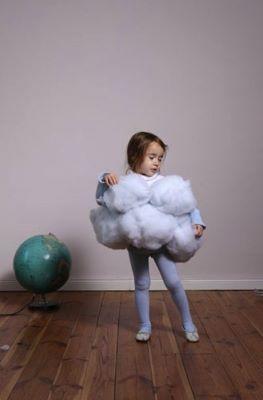 Déguisement Halloween nuage pour enfant