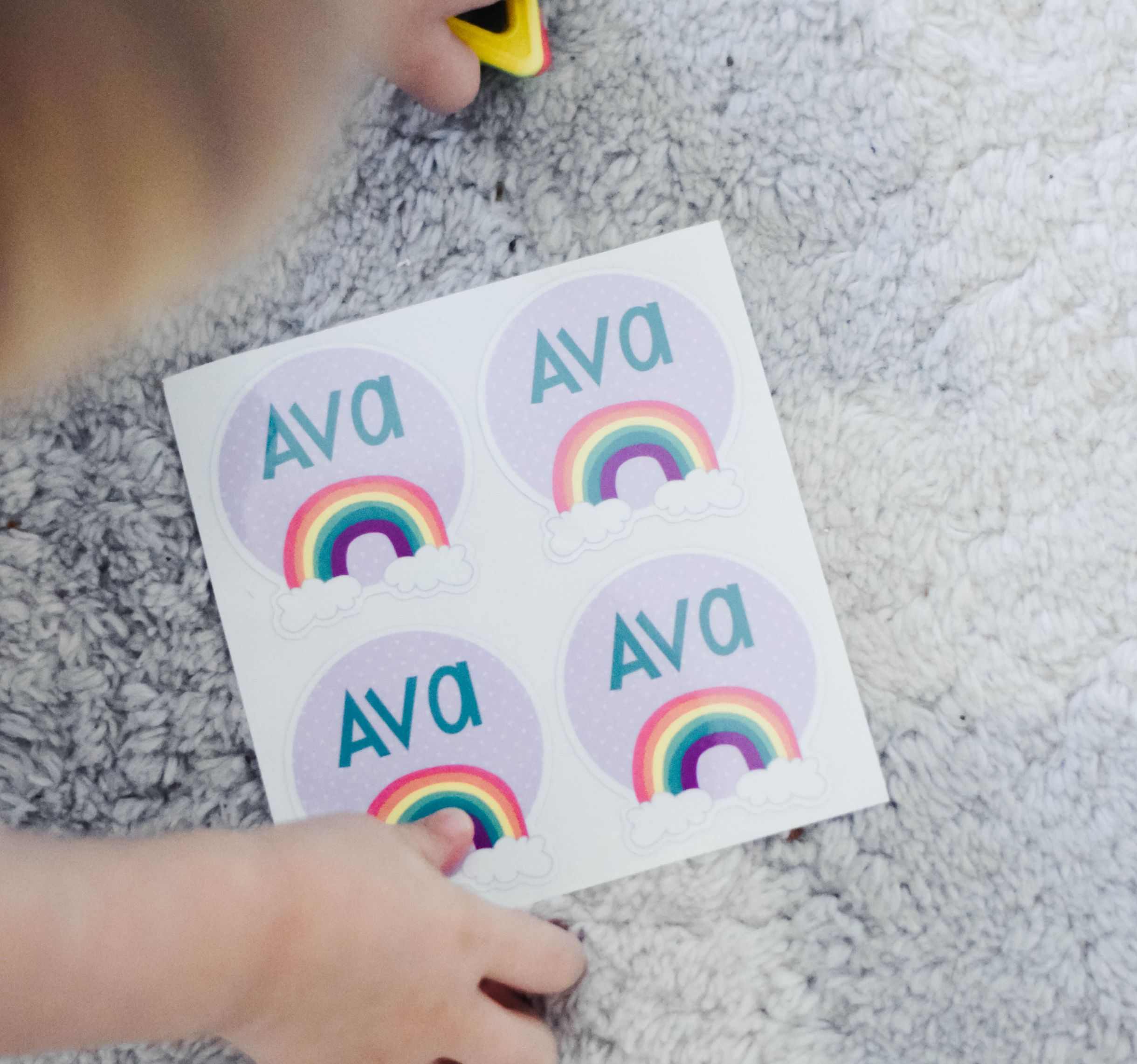 Daycare & Preschool Labels