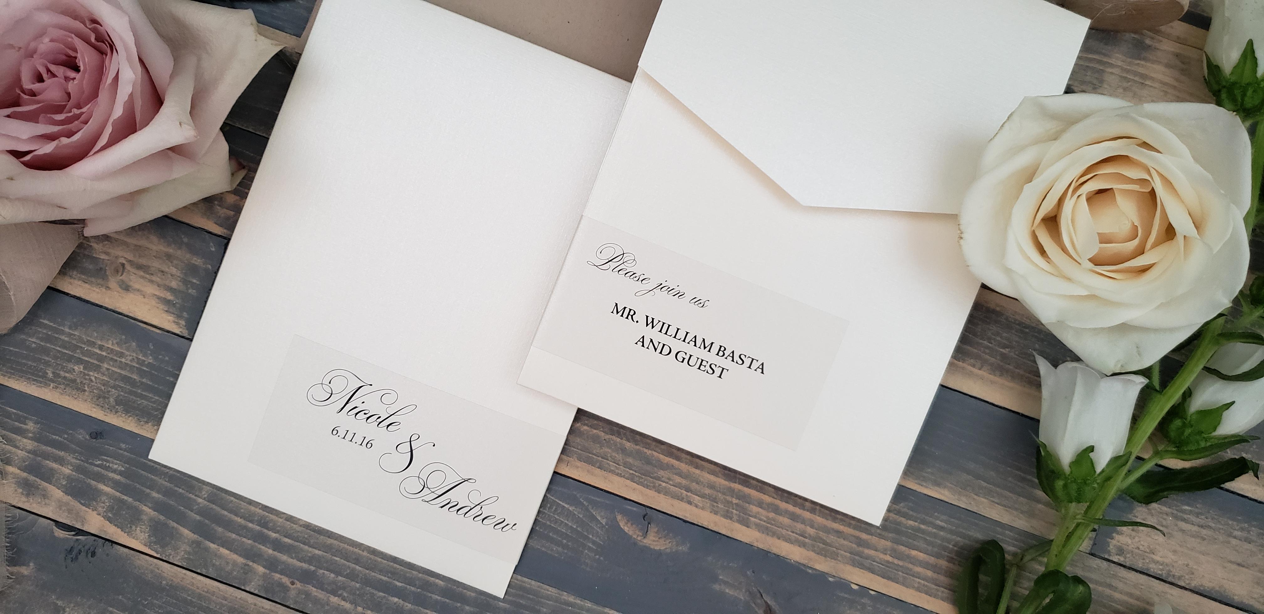 custom sticker wedding invitations