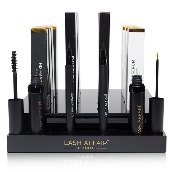 Lash Affair has you covered with products to retail to your clientele!