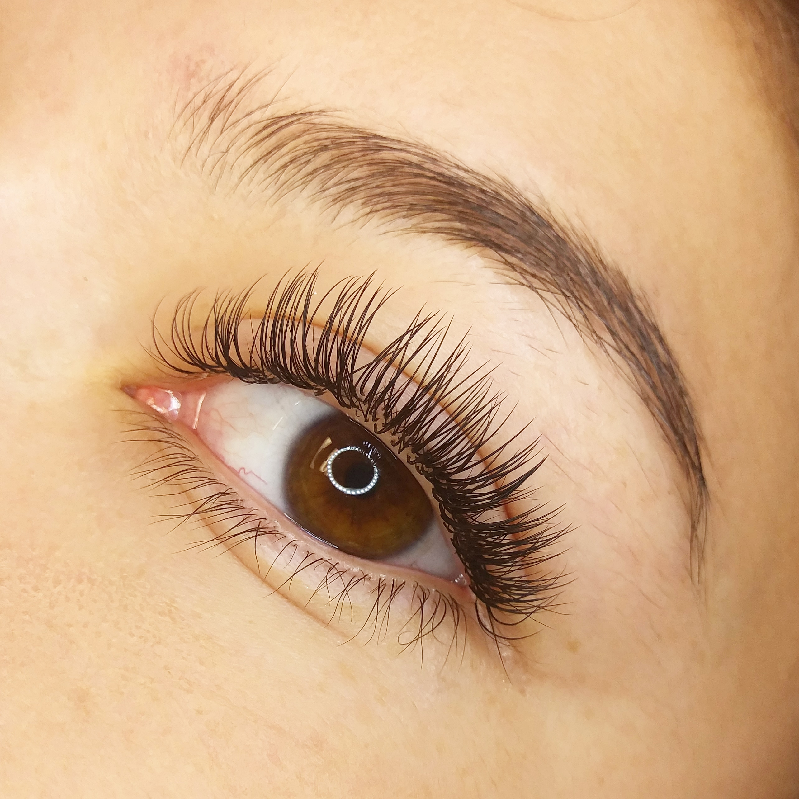 141de947a7f Many artists don't know this, but Ellipse or flat lashes are not meant to  be used for full sets. Full sets of flat lashes often have a plasticky  looking ...