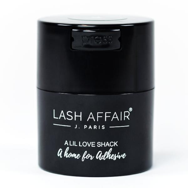Lash Affair's Airtight Adhesive Storage