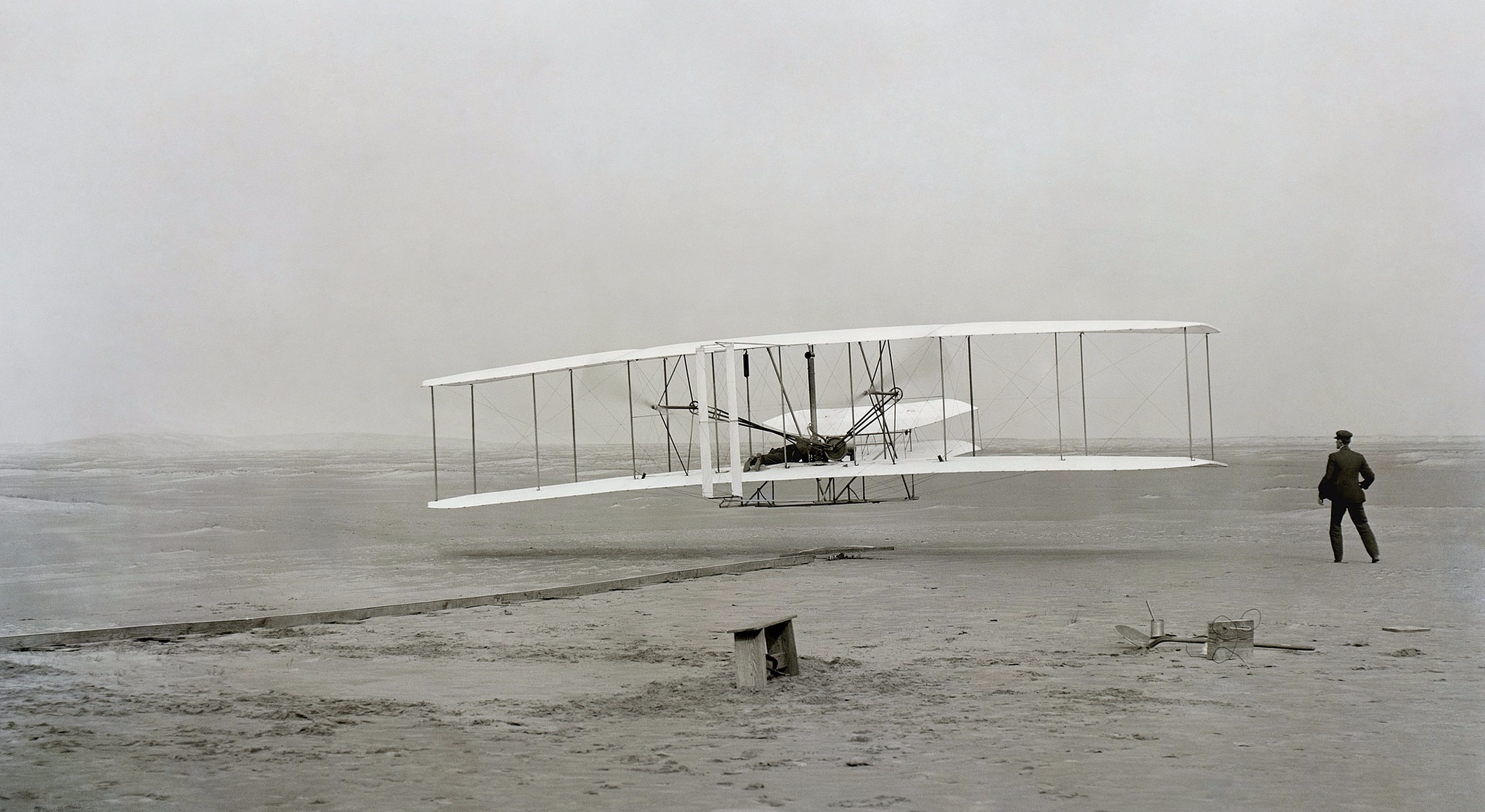 The Wright Brothers had drive and passion, which is more valuable than money!