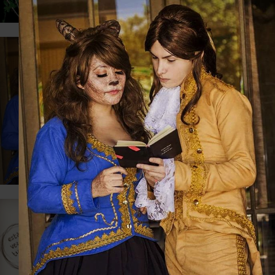 Beauty and the Beast Gender Swap Costume