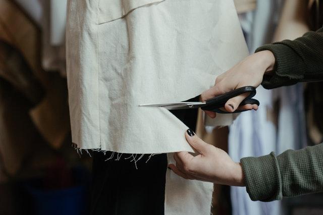 cutting the cloth