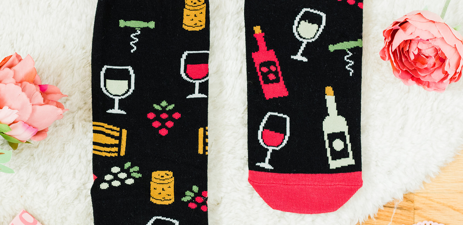 Lavley If you can read this bring me wine socks