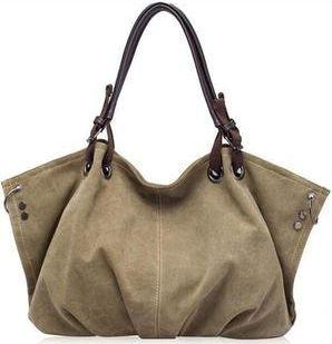 SARAH - VEGAN WOMENS LARGE RETRO SHOULDER BAG