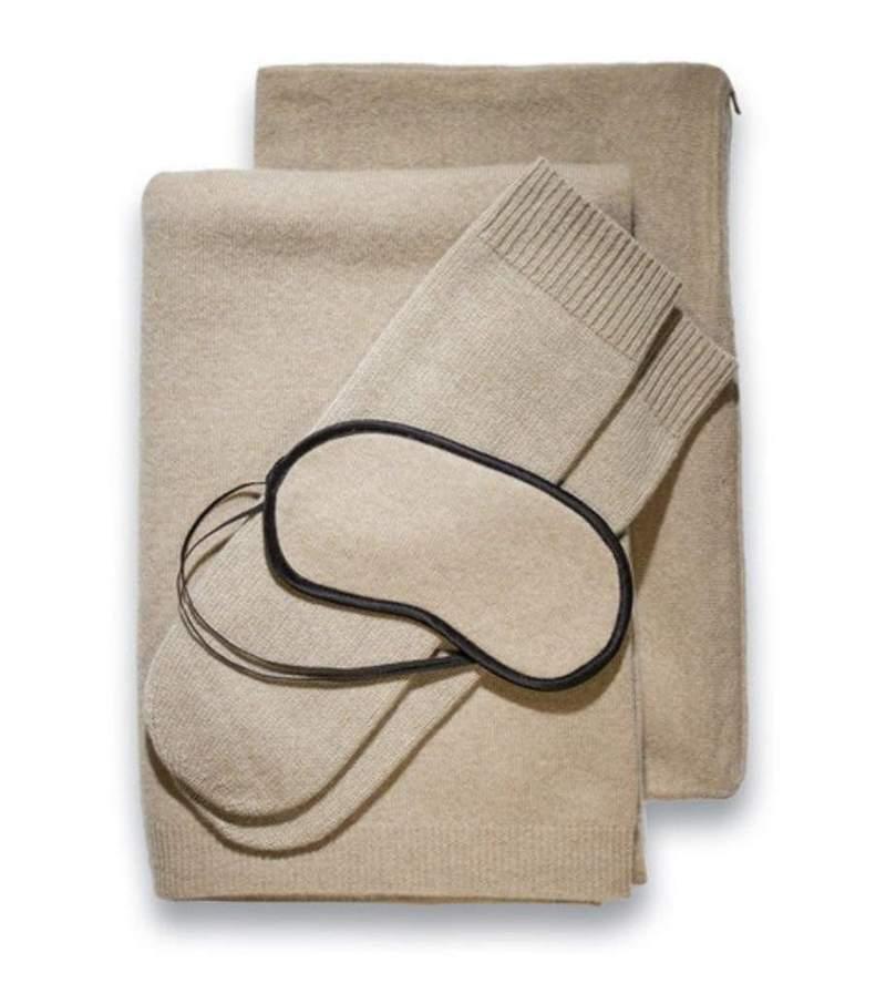 Portofino Cashmere Travel Blanket | Cashmere Blankets | Sofia Cashmere