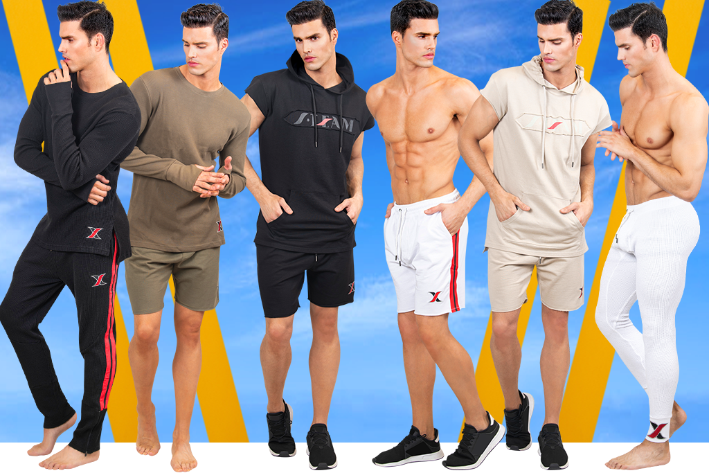 Men's Workout Clothing & Gym Training Clothes for Men | LEORICCI