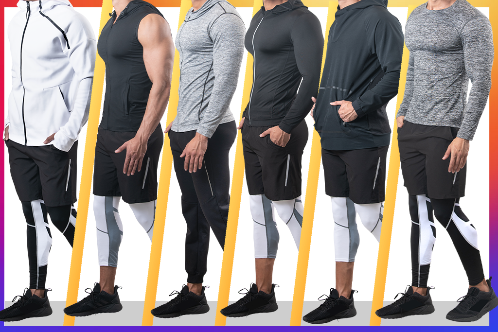 Men's Gym Clothing: Workout & Training Gear for Men | Men's Activewear Fashion | LEORICCI