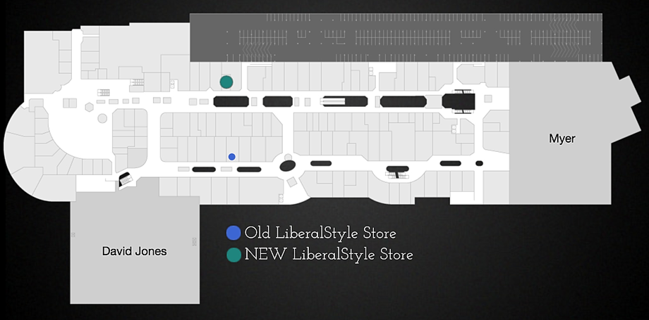 ISC Map - Old and New LiberalStyle Store