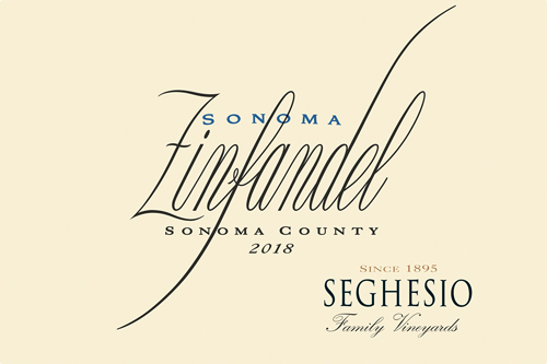 Seghesio Sonoma Zinfandel 2018