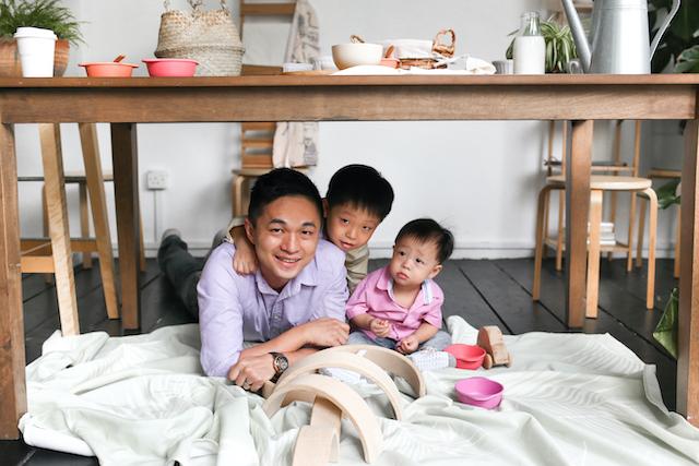 Jayina and Her Kids: Anya and Adam