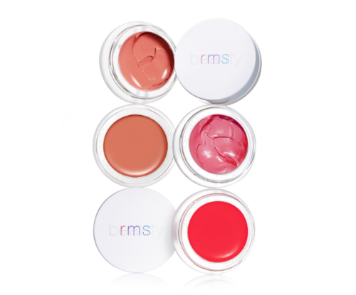 Lip gloss by RMS with burrito Oil Vitamin A and Vitamin C