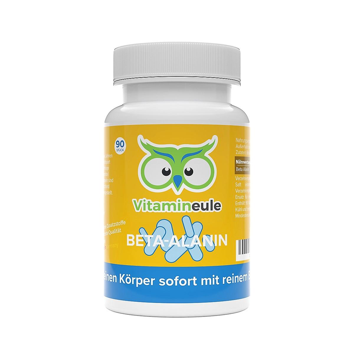Beta-Alanin Kapseln von Vitamineule ohne Zusatzstoffe