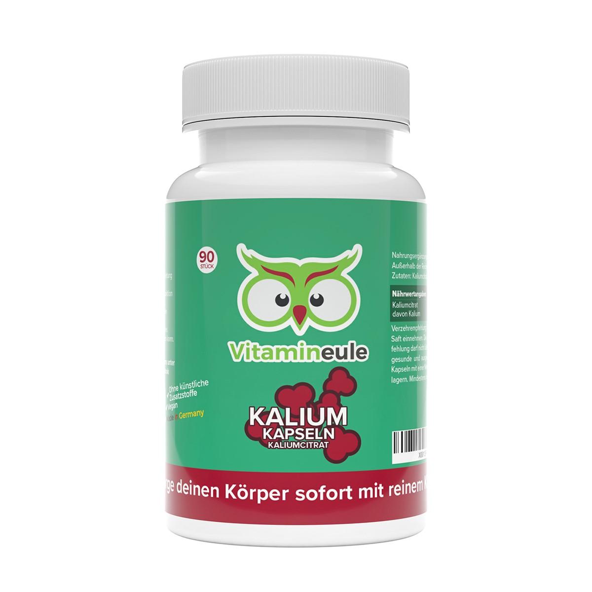 Kalium Kapseln von Vitamineule