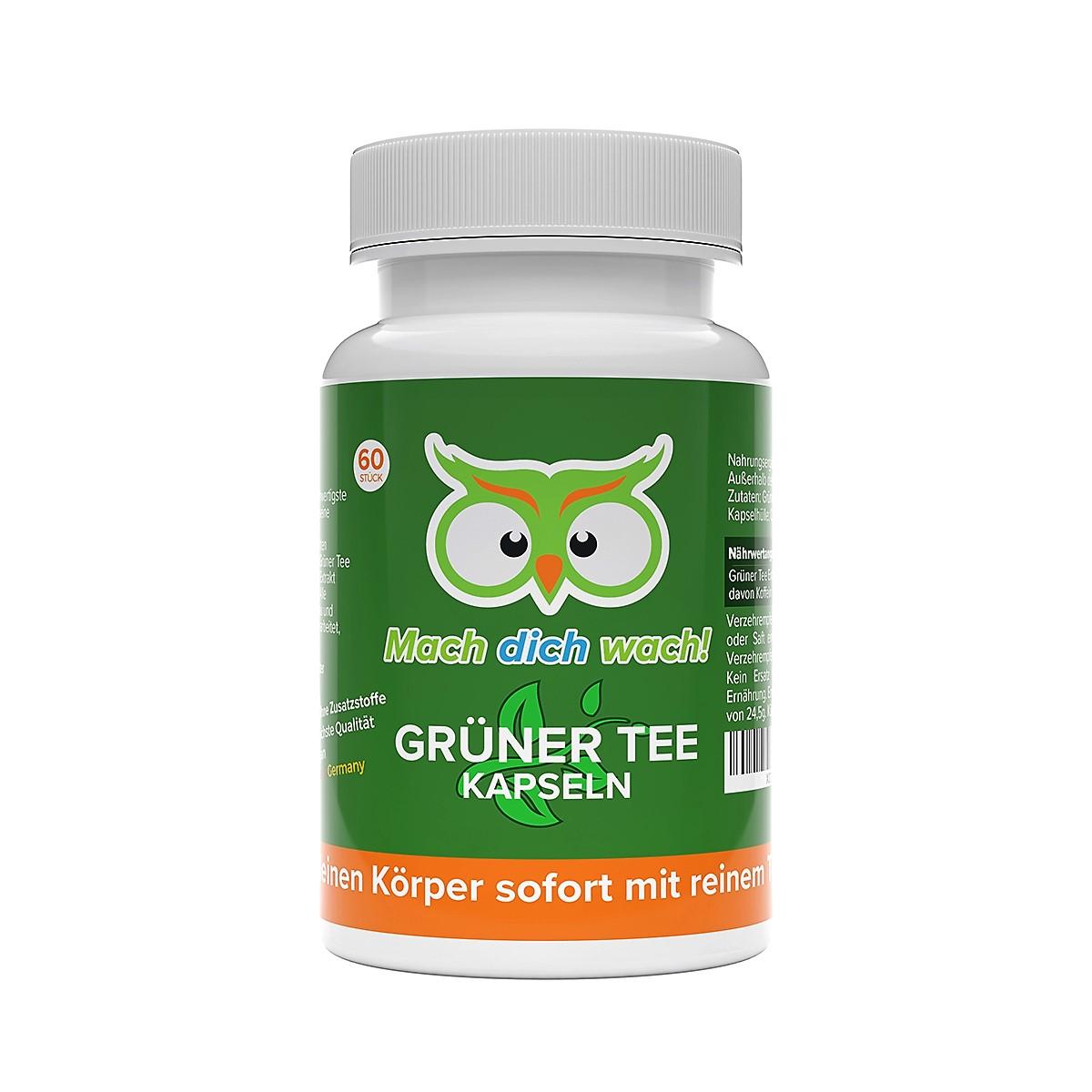 Grüner Tee Kapseln von Vitamineule