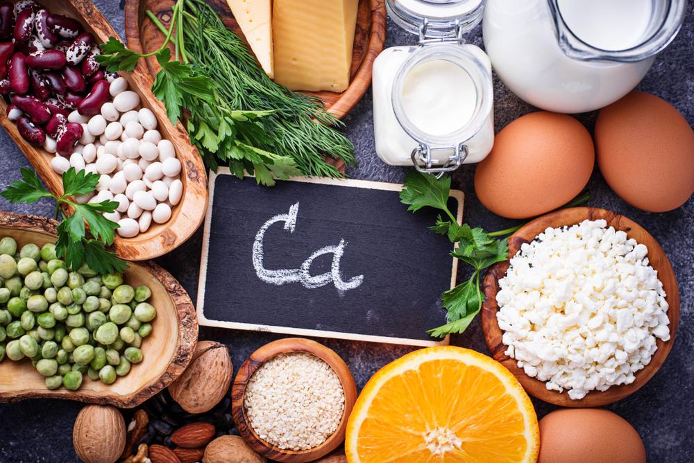 Lebensmittel mit hohem Calciumanteil