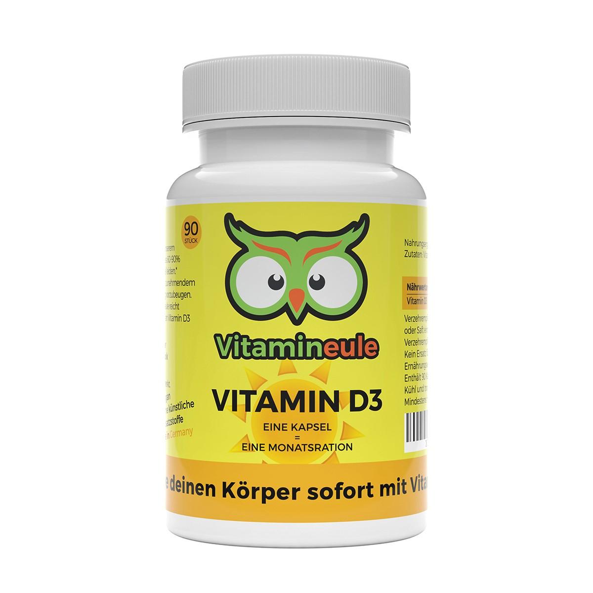 Vitamin D3 Kapseln von Vitamineule