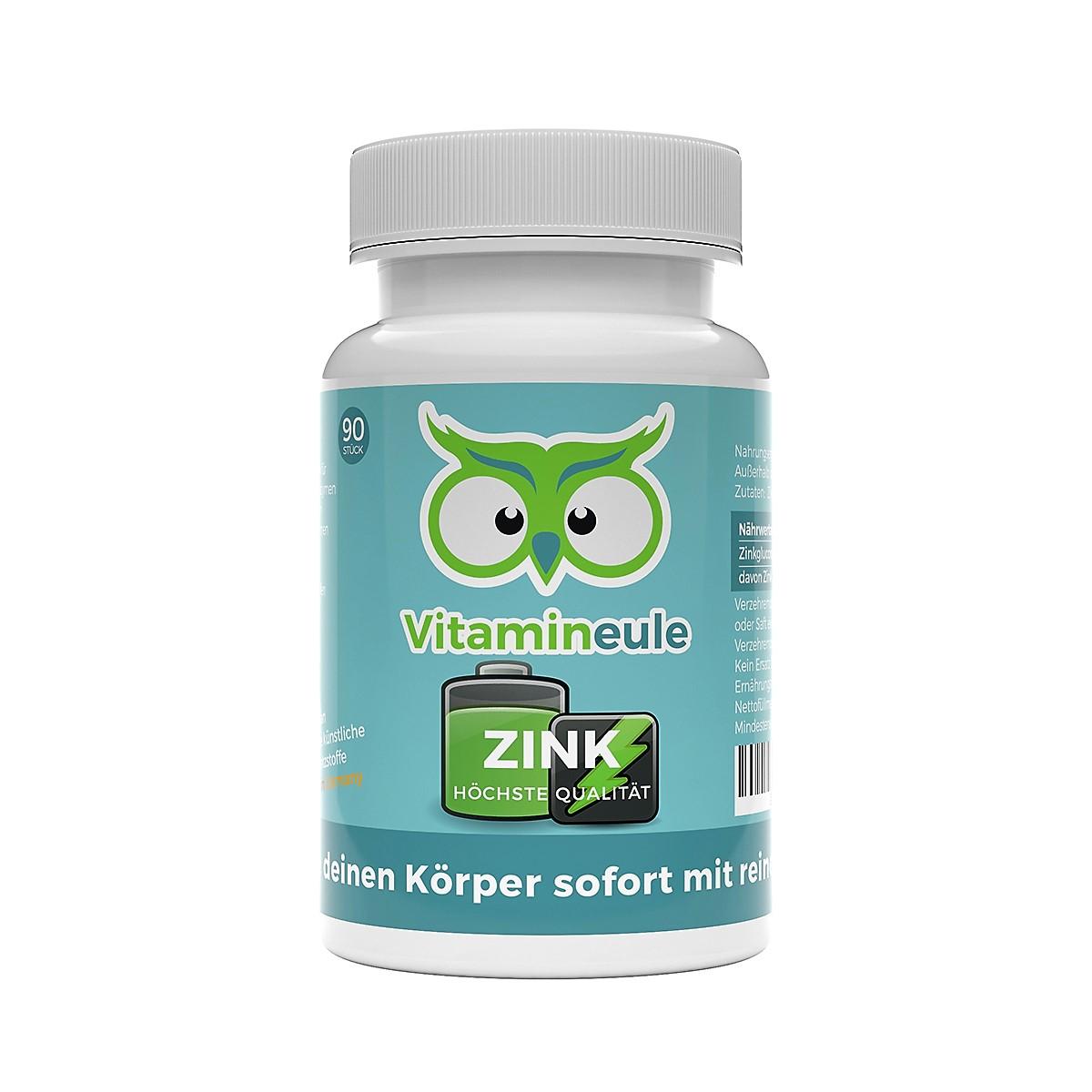 Zink Kapseln von Vitamineule
