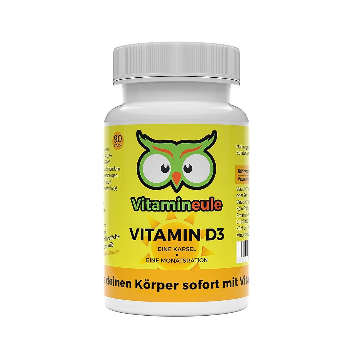 Vitamineule® Vitamin D3 Kapseln