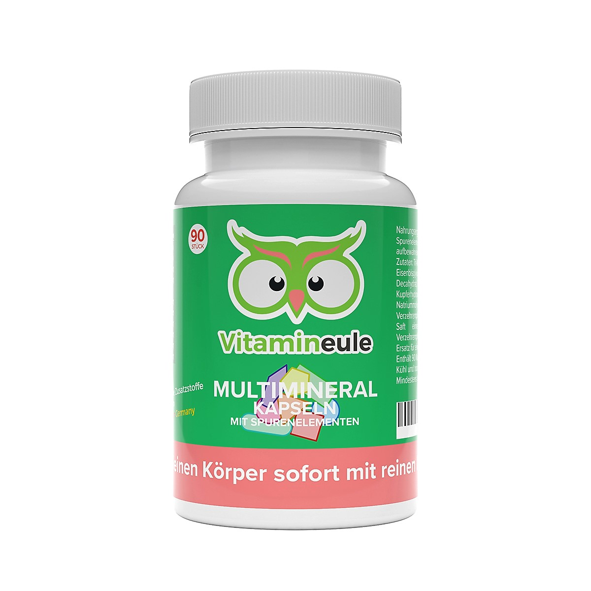 Multimineral Kapseln von Vitamineule