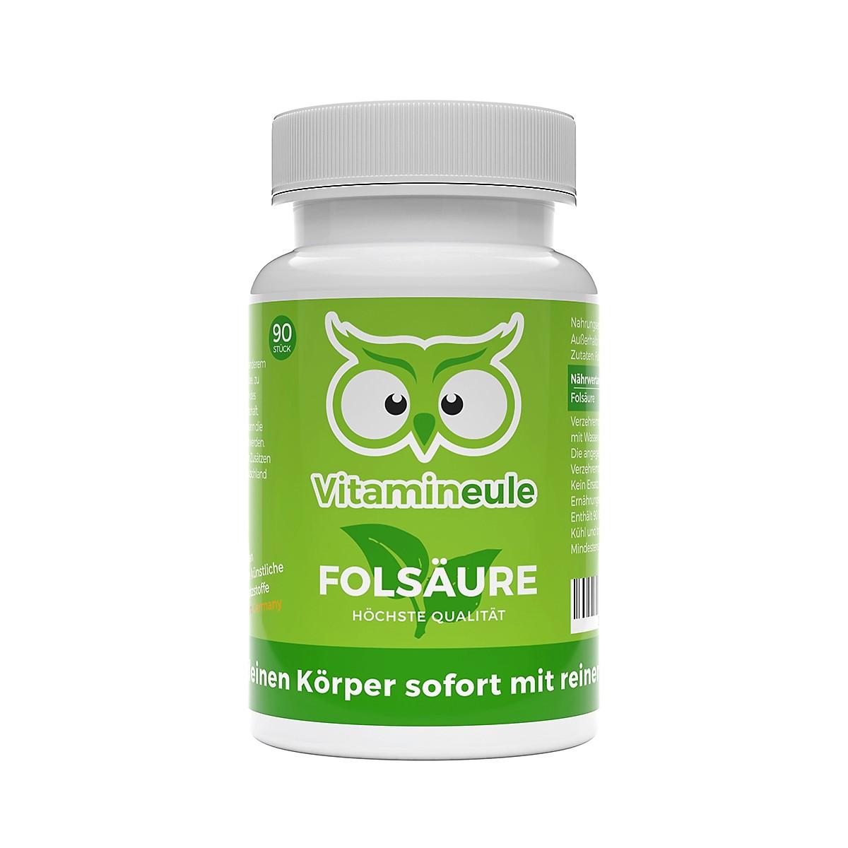 Vitamineule® Folsäurekapseln