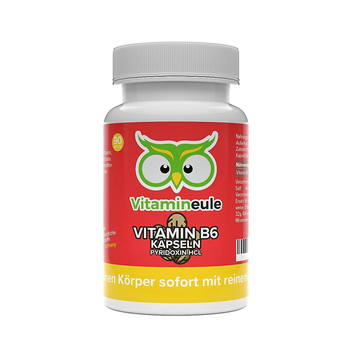Vitamin B6 Kapseln von Vitamineule ohne Zusatzstoffe