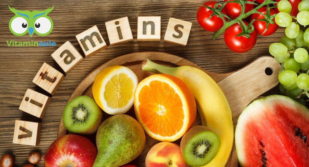 Fettlösliche und wasserlösliche Vitamine