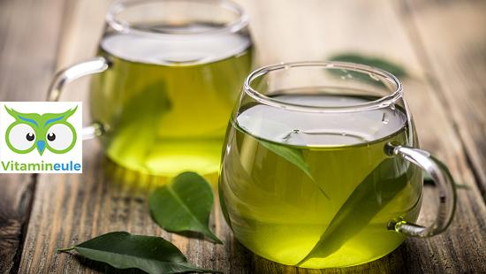 Grüner Tee hochdosiert