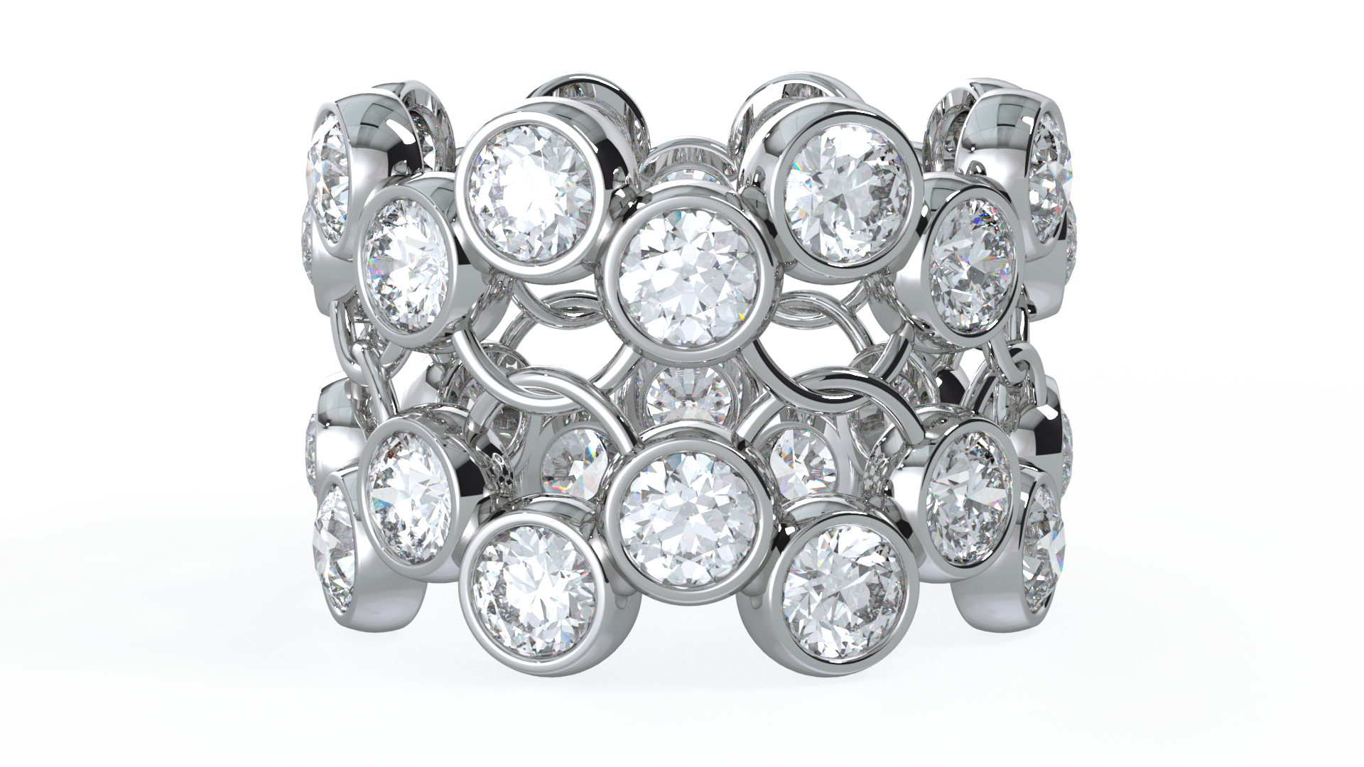eternity ring by mcguire diamonds