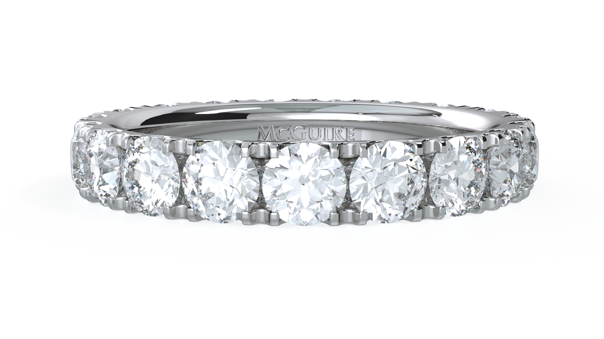 Collection diamond set eternity ring