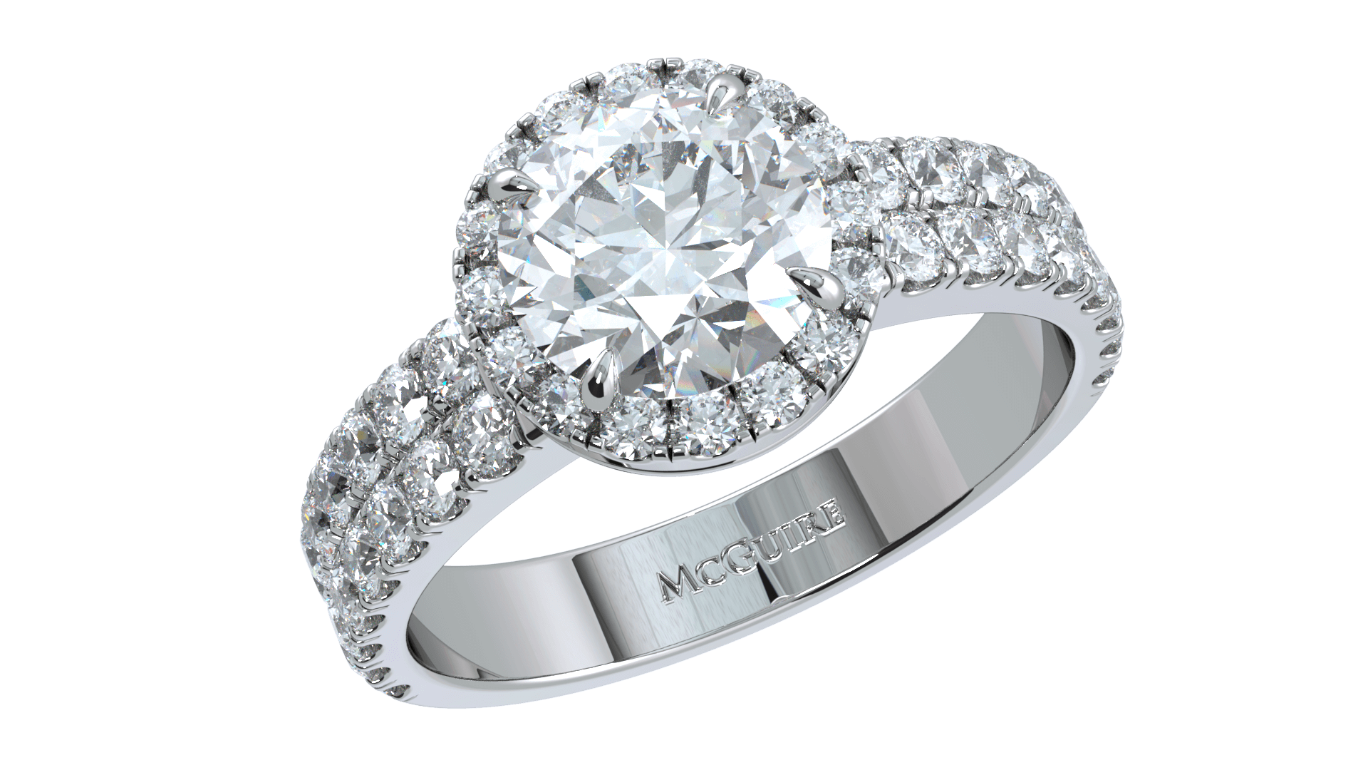 Diamond Engagement ring bu McGuire Diamonds