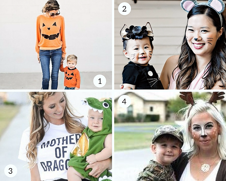Quick and easy Mommy & Me Halloween Costumes