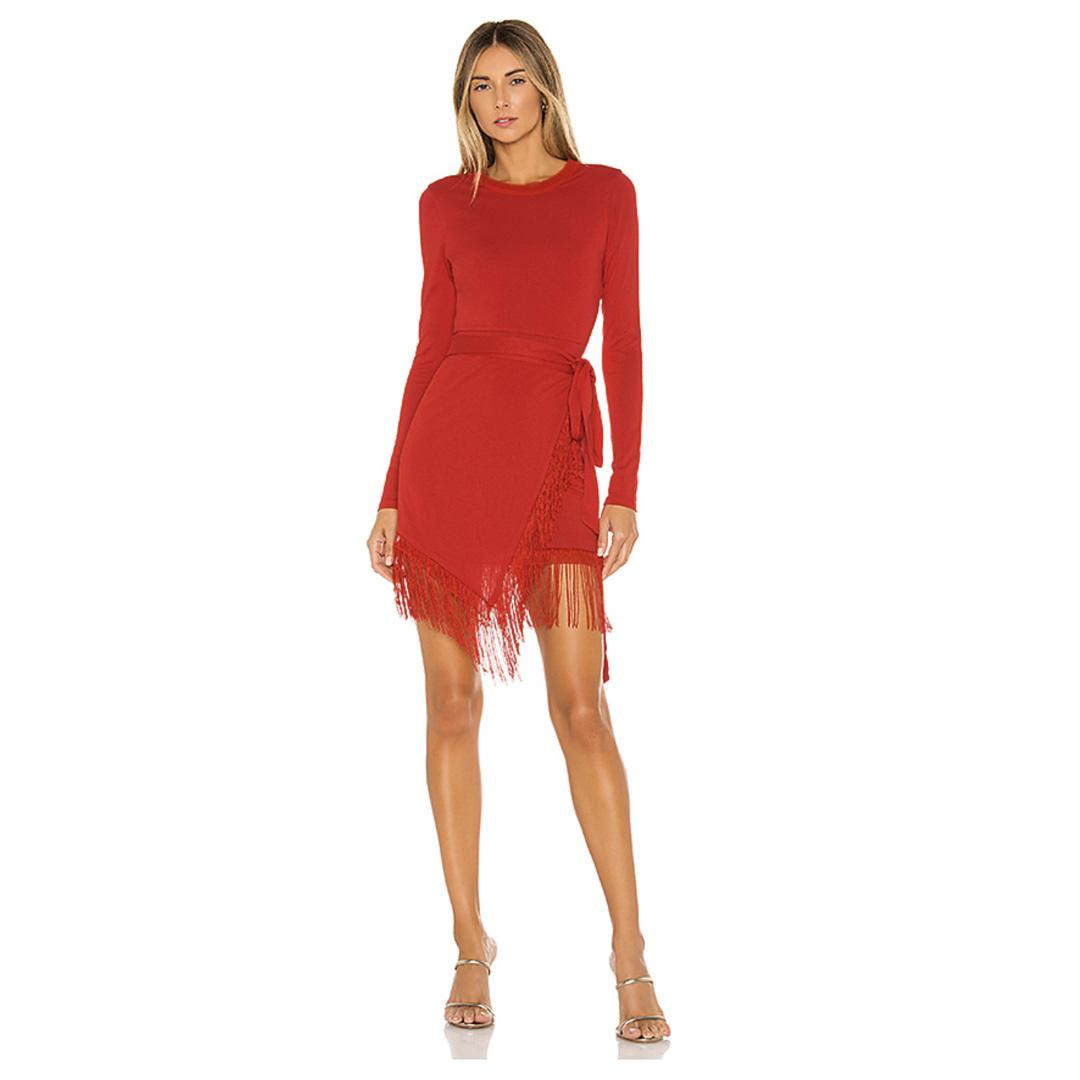 anisha fringe dress