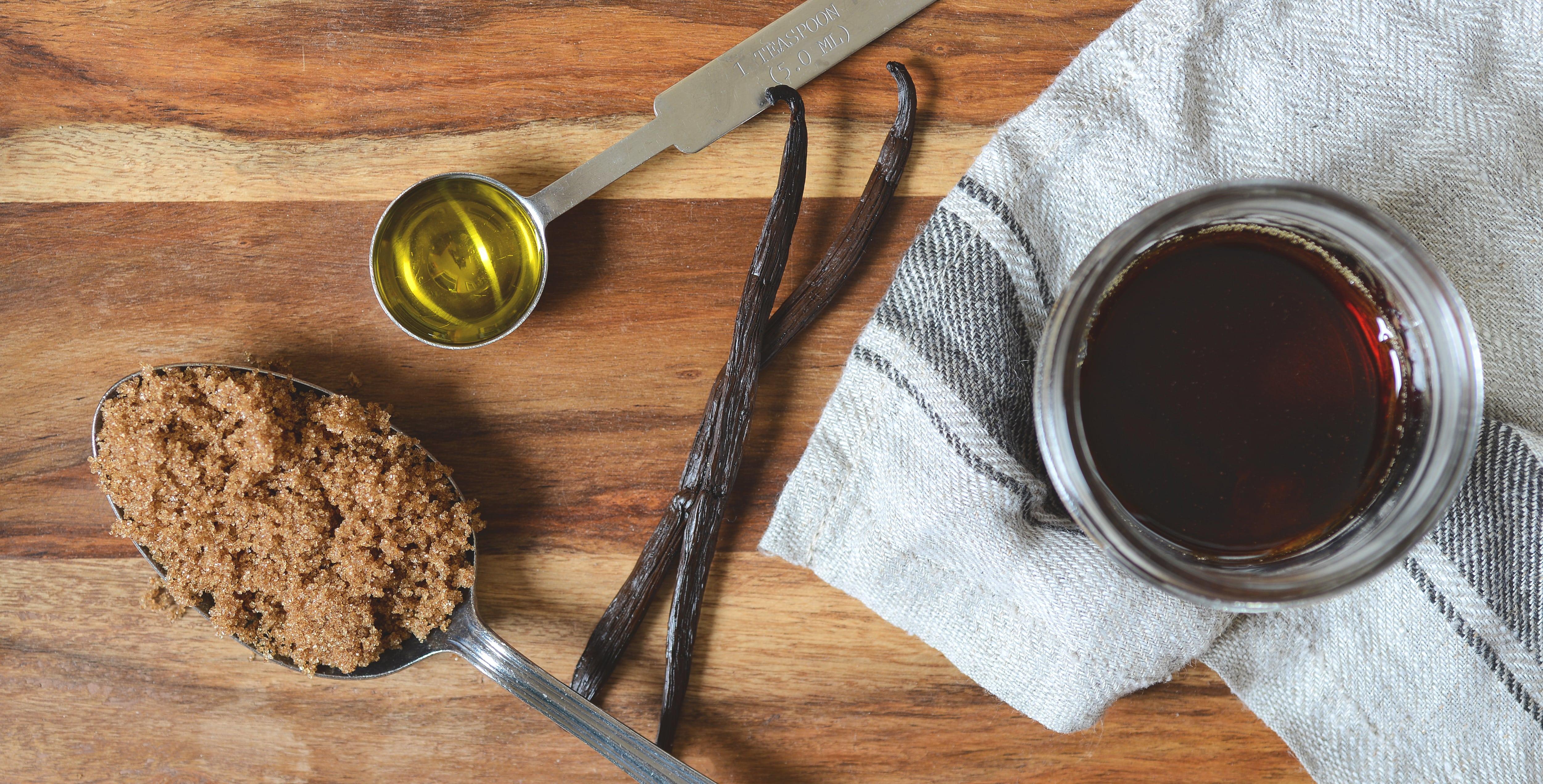 Exfoliant sirop d'érable, recette, bien-être, moi d'abord, boîte mensuelle, santé