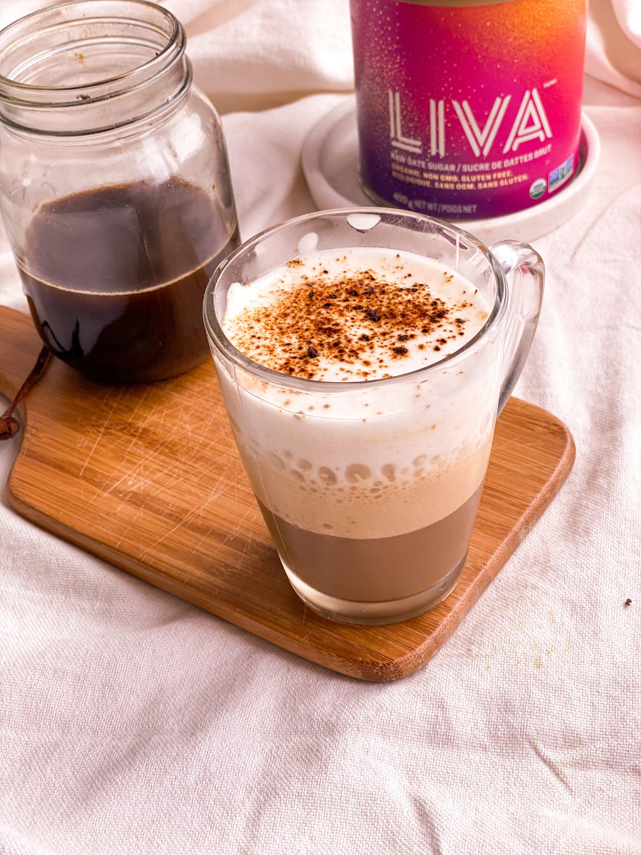 Cappuccino glacé maison santé