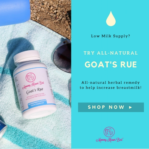 Help increase breastmilk naturally with goat's rue