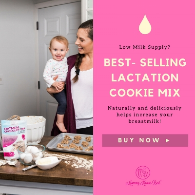 Help increase breastmilk naturally with lactation cookie mix