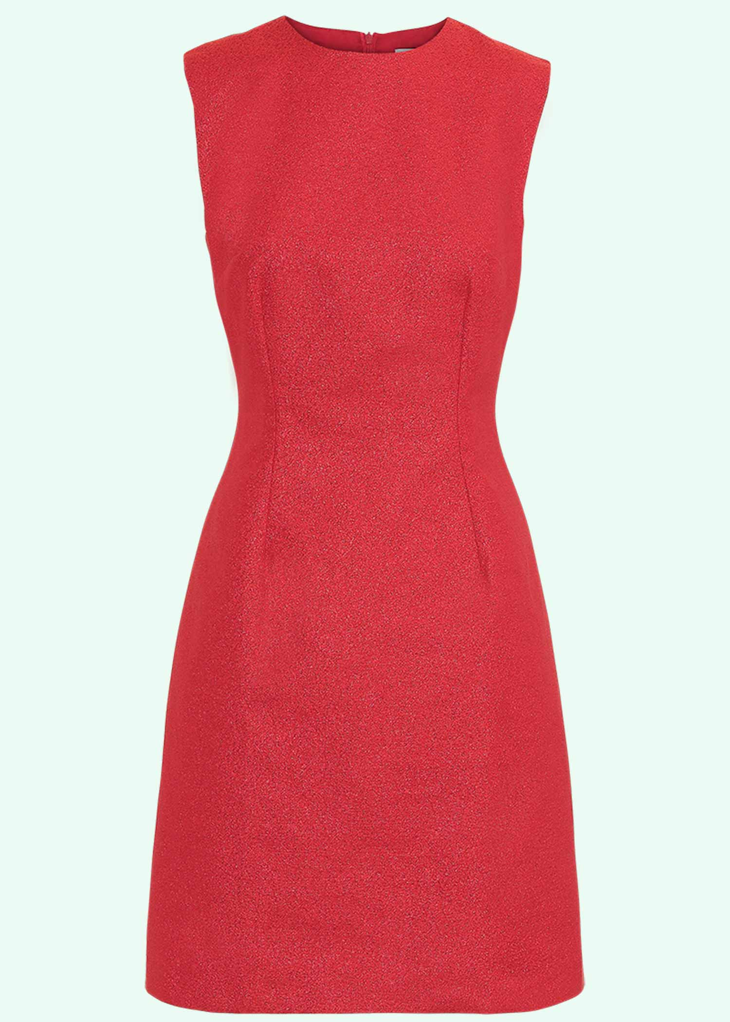 60'er Mini kjole i rød glitter fra Marmalade