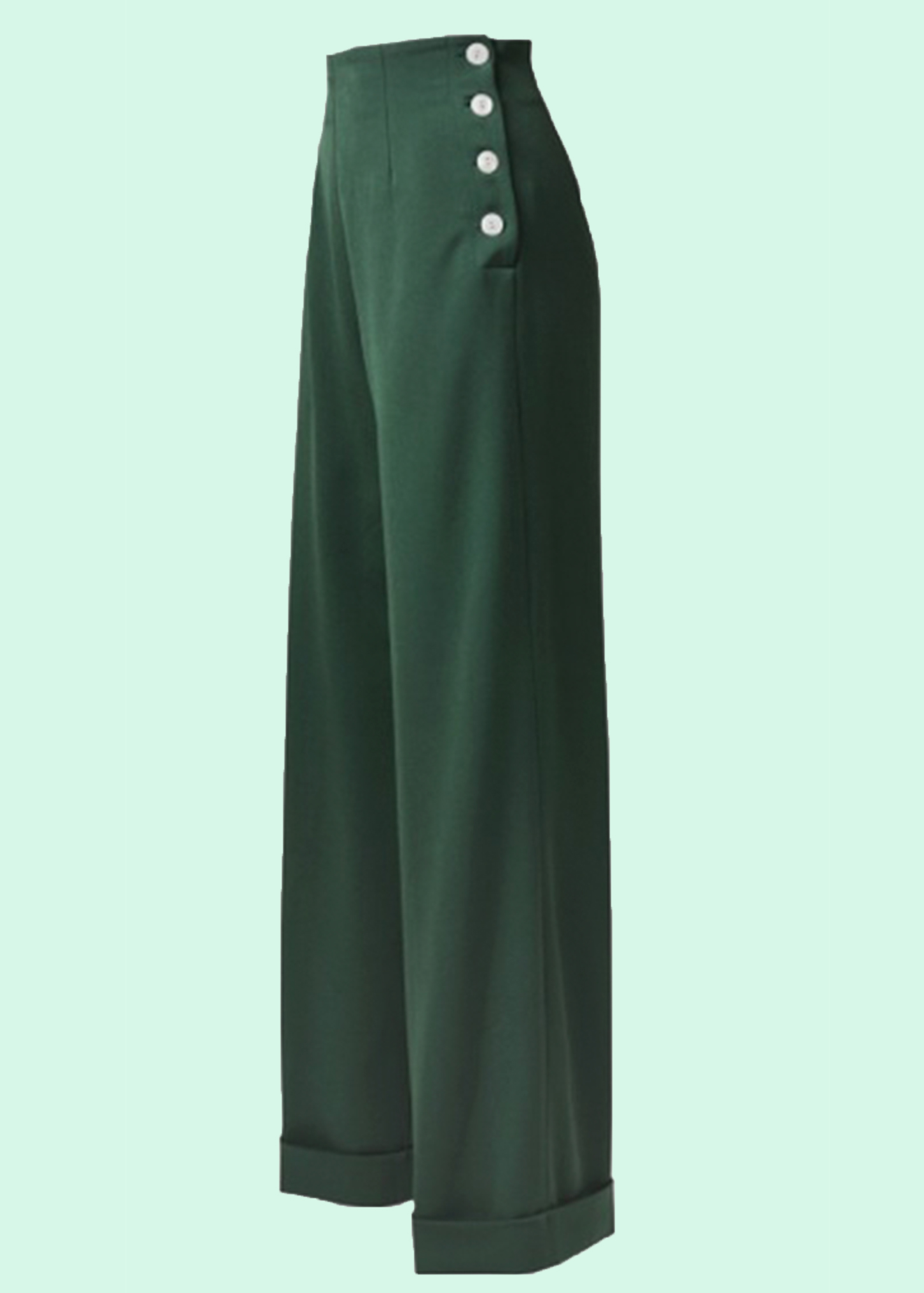 1940s style pants with wide legs from The House Of Foxy