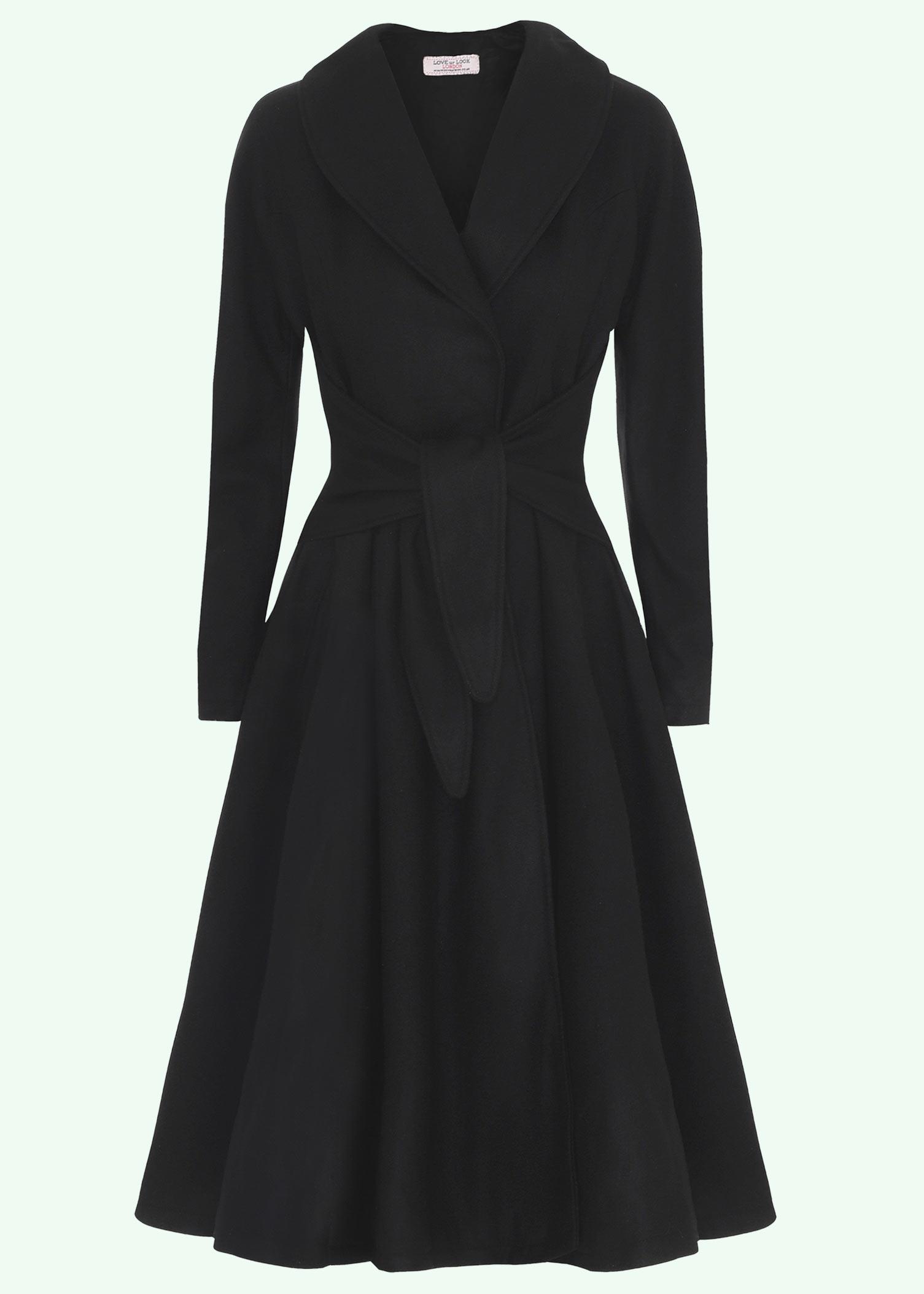 Klassisk 50'er uldfrakke fra Mondo Kaos
