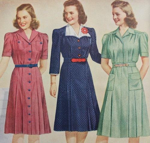 1940'er inspirerede kjoler fra Mondo Kaos