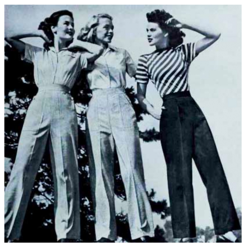 Find your 40s inspired pants at Mondo Kaos