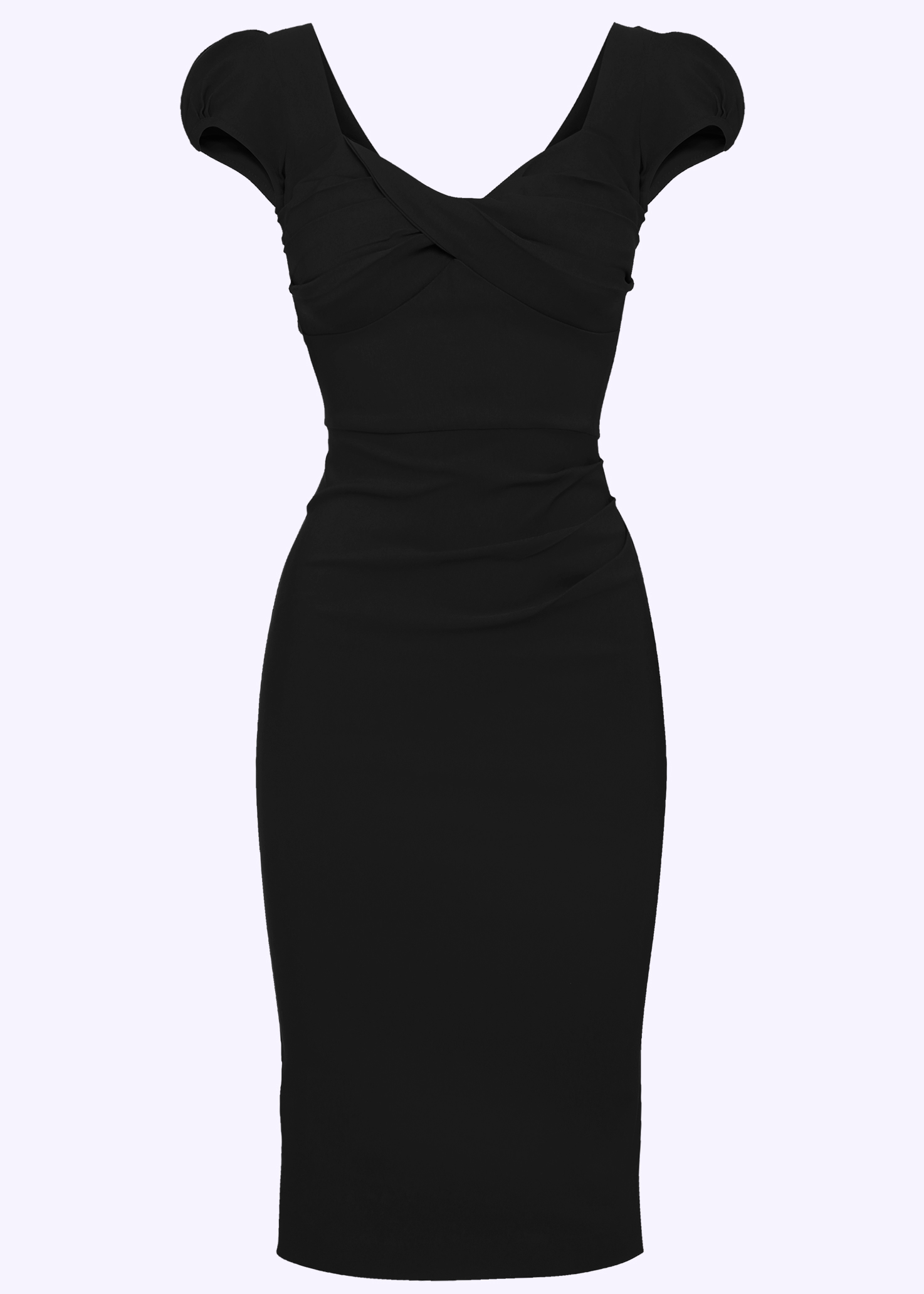 Black 50s inspired pencil dress from Stop Staring!