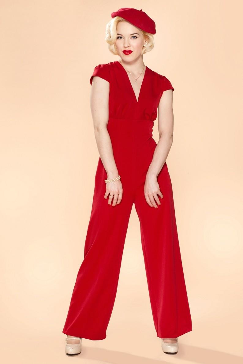 Very Cherry jumpsuit venice
