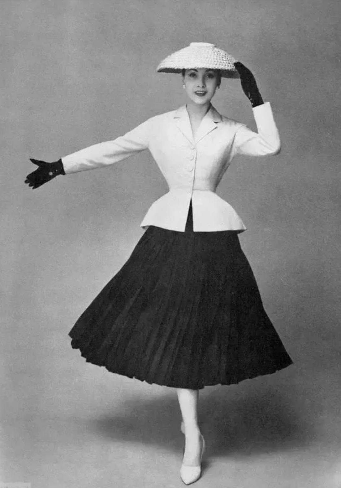 Dior's new look came in 1947