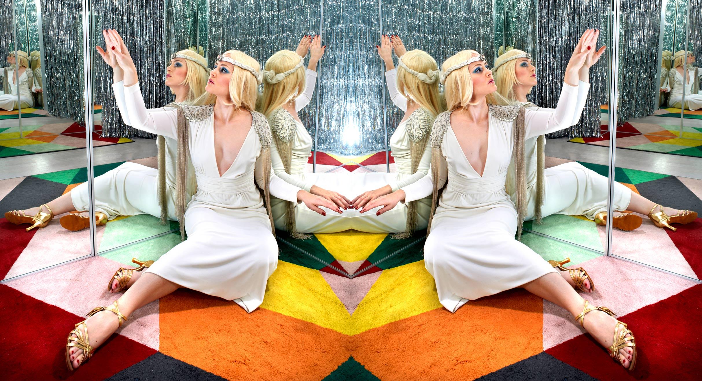 "Vintage butik FN92 afholder vintage mode show ""The ABBA Show"""